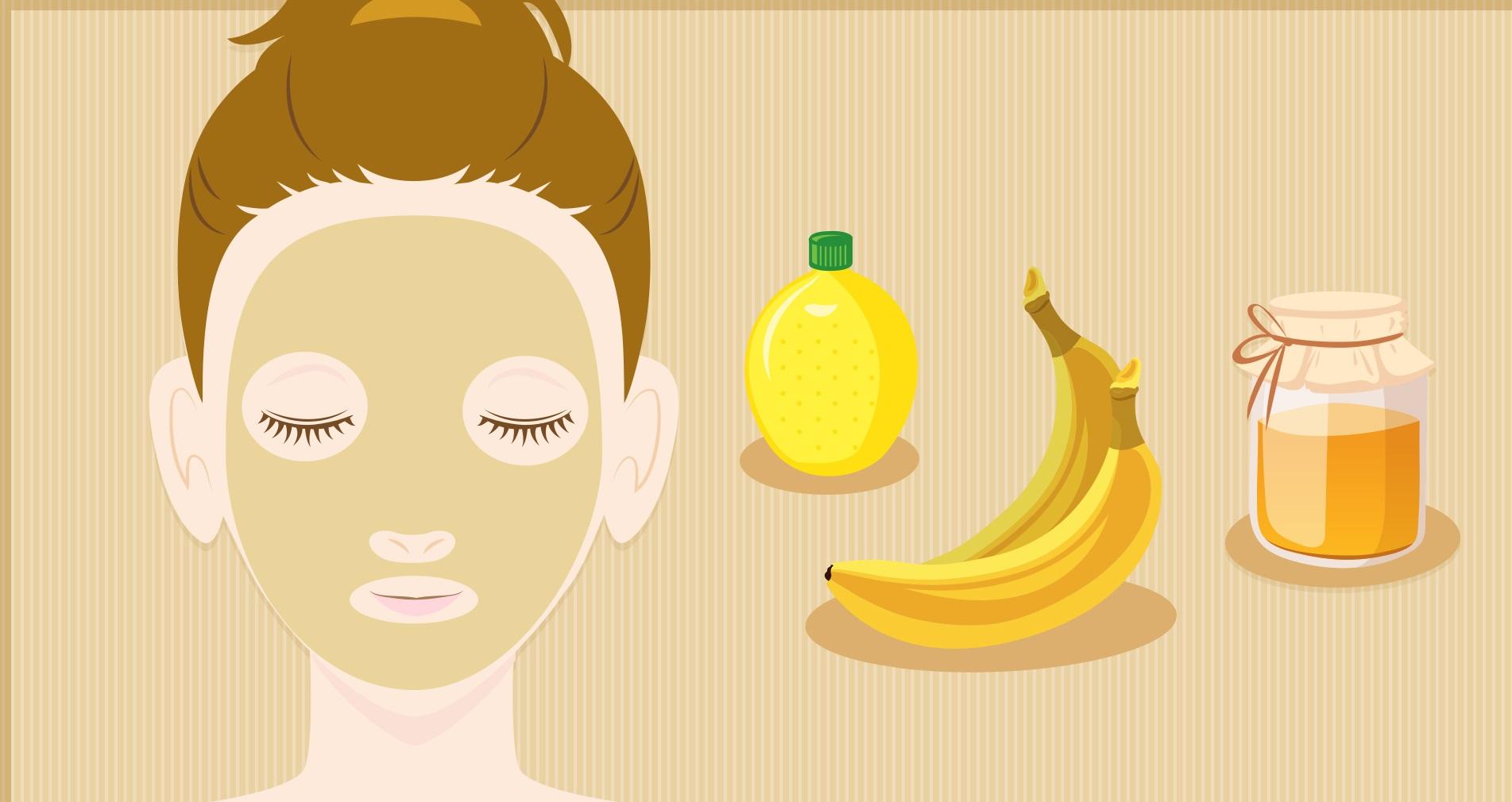 فوائد الموز للبشرة