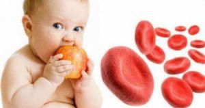 اعراض الانيميا في الاطفال